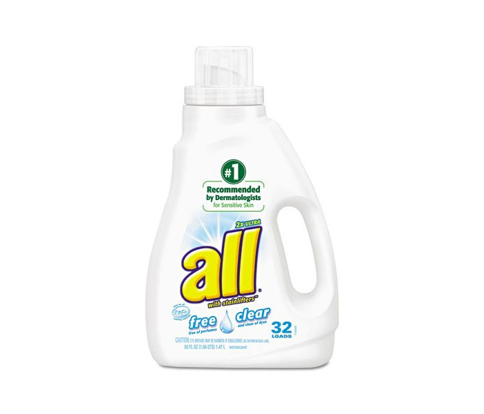 Get A Free All Free Clear Laundry Detergent!