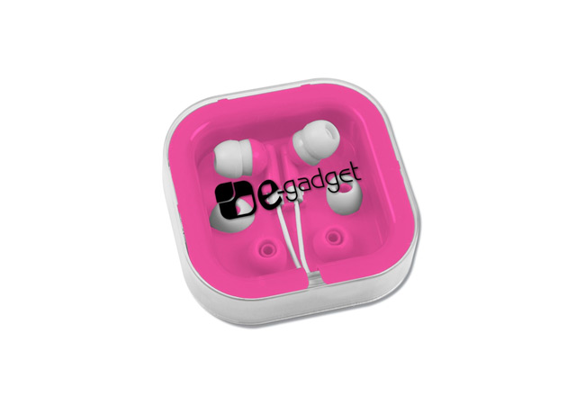 Get Free Ear Buds with Interchangeable Covers!