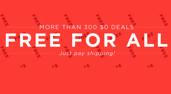 More Than 300 Different FREE Items!