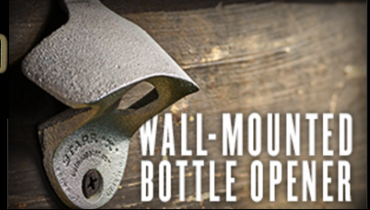 FREE Wall-Mounted Bottle Opener from Copenhagen