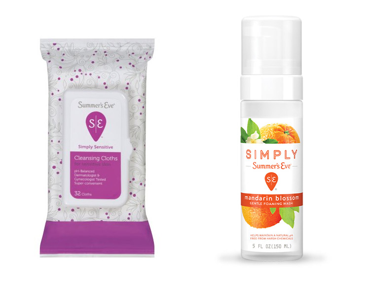 Get A Free Simply Summer's Eve Cleansing Cloths & Foaming Wash!
