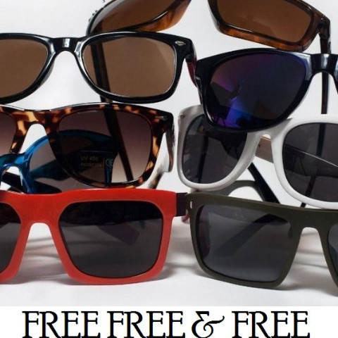 Get A Free Sunglasses! (Free Shipping)