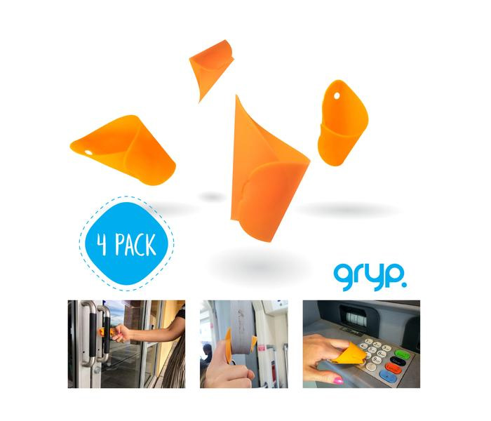 Get A Free Gryp Bacteria-Resistant Touch Free Keychain!