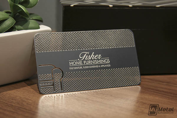 Get A Free Metal Business Card!