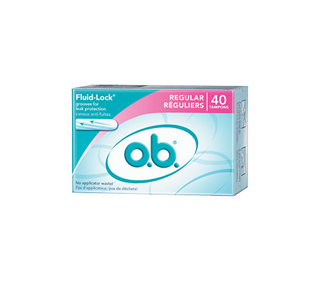 Get A Free Box Of o.b. Tampons!