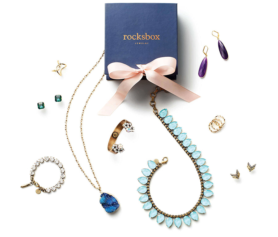 Get RocksBox Jewelry - First Month For Free! (3 Pieces)