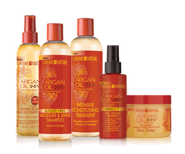 Get A Free Creme Of Nature With Argan Oil Sample Pack!