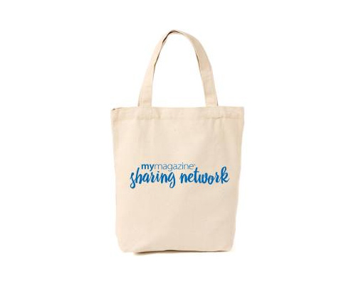 Get A Free Shopping Tote From MyMagazine!