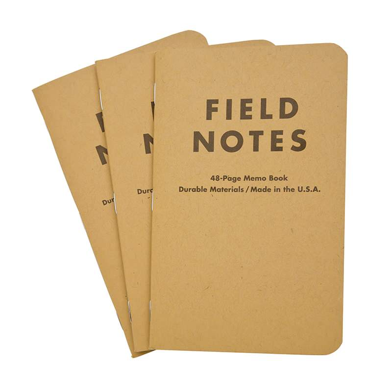 Get A Free Field Notes Notebook!