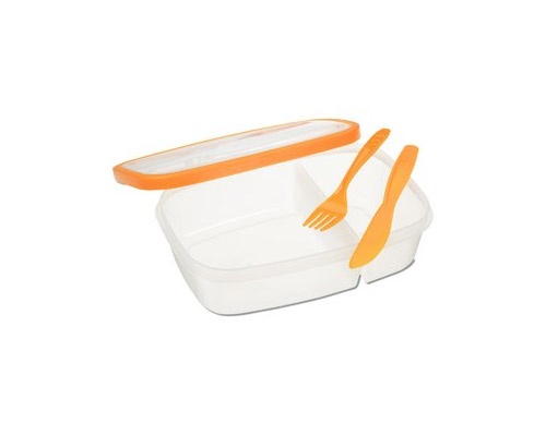 Get A Free Food Container With Knife and Fork!