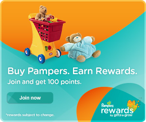 Join Pampers Rewards!