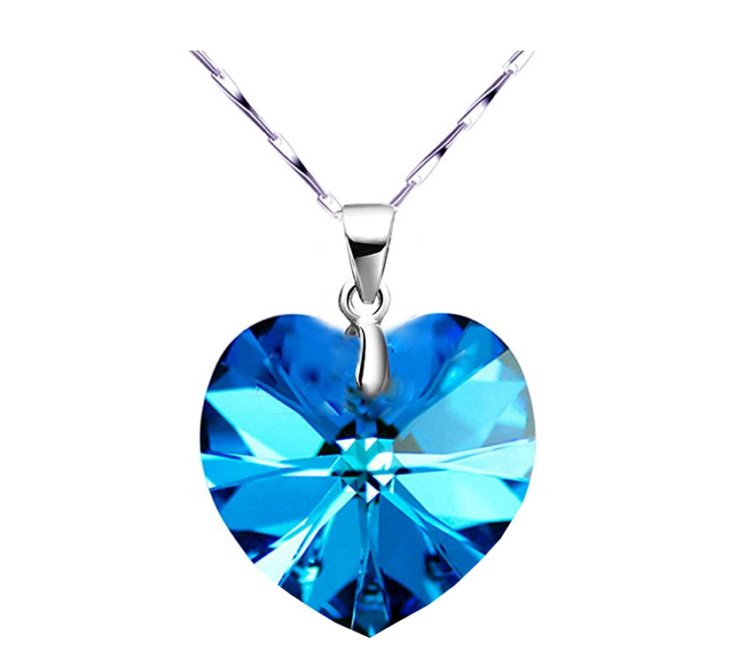 Get A Free Blue Swarovski Crystal Pendant Necklace! (Amazon)