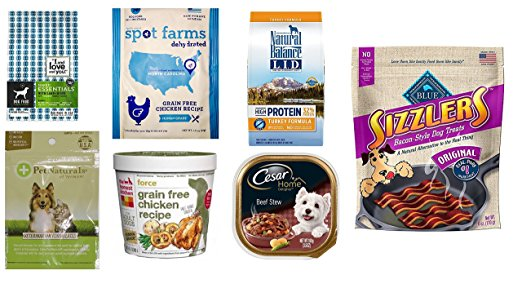 Get A Free Dog Food and Treats Sample Box From Amazon!