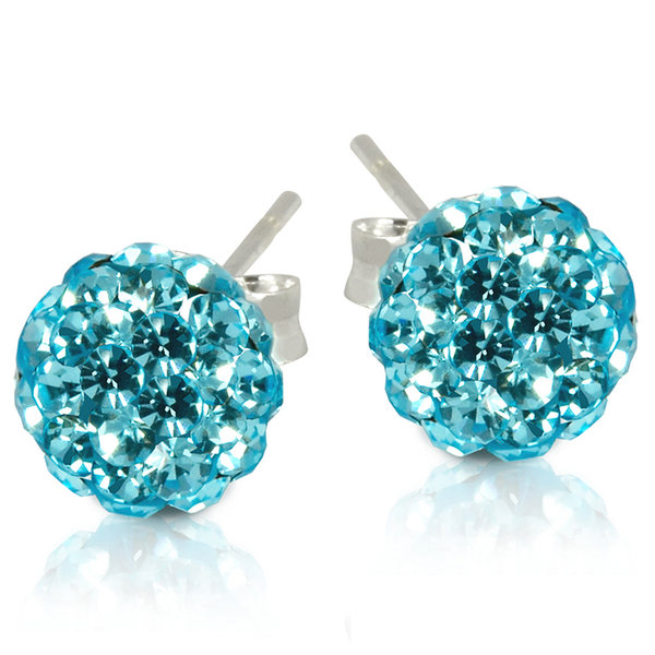 Get FREE 2 CT Crystal Ball Studs!