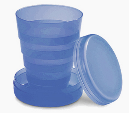 Get A Free Plastic Folding Cup!