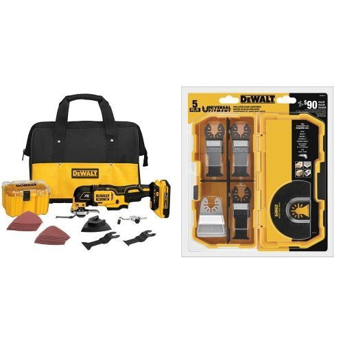 $159.00 DEWALT DCS355D1 20V XR Brushless Oscillating Multi-Tool Kit with