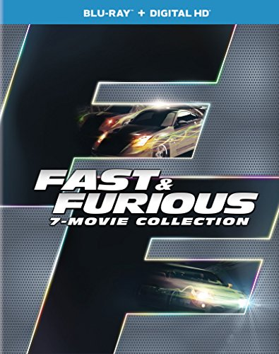 Fast  Furious 7-Movie Collection (Blu-ray + DIGITAL HD)
