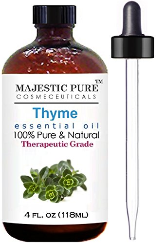 Thyme Essential Oil From Majestic Pure, Therapeutic Grade, Pure