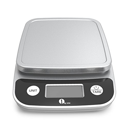 1byone Digital Kitchen Scale Precise Cooking Scale and Baking