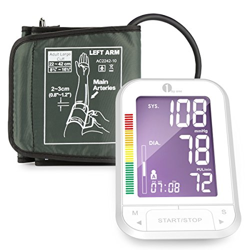 1byone Upper Arm Digital Blood Pressure Monitor Blood Pressure