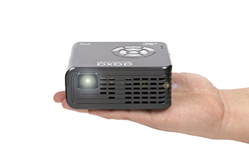 AAXA P5 LED Pico Projector, 300 Lumens, Native 720P