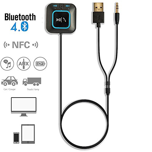 AIRWALKS Bluetooth 4.0 Receiver Car Kits Portable Wireless Audio