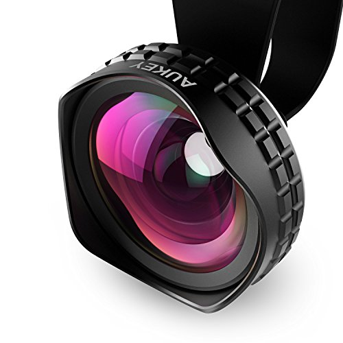 AUKEY Ora iPhone Lens, 110° Wide Angle Clip-on Cell