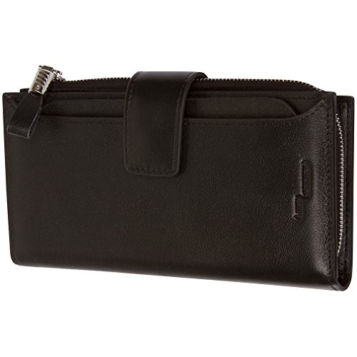$66.95 Access Denied Womens RFID Blocking Leather Wallet w/Removable Secure