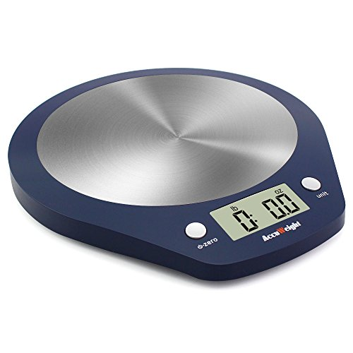 Accuweight Digital Food Scale with 11lb/5kg Gram Scale Electronic