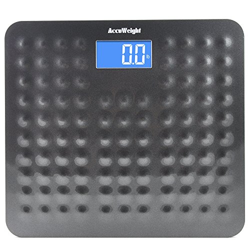 Accuweight Digital Body Weight Bathroom Scale with Smart Step-On