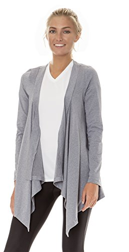 (ALW002) AeroskinDry Womens Active Lifestyle Cardigan Wrap in OX