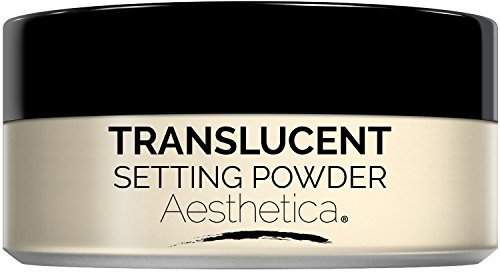 Aesthetica Translucent Loose Setting Powder - Talc Free Finishing