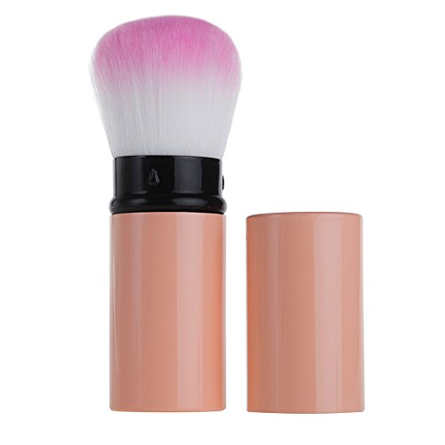 Retractable Kabuki Foundation Brush by Aguder Best for Mineral