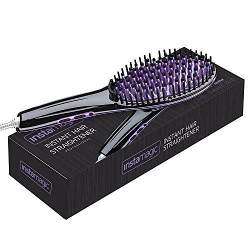 Insta Magic Hair Straightening Brush with LED Display -