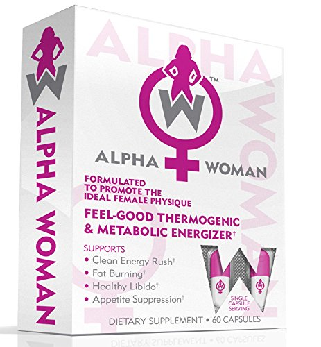 ALPHA WOMAN Fat Burner - Weight Loss Supplement For