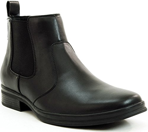 $44.99 Alpine Swiss Mens Chelsea Boots Suede Lined Pull On