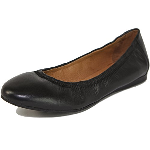 Alpine Swiss Women's Vera Ballet Flats European Made Leather