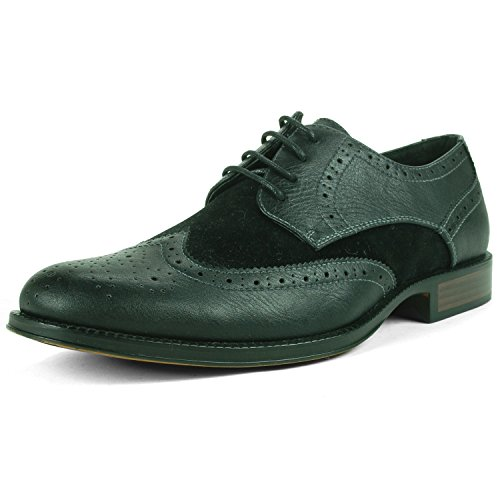 $34.99 Alpine Swiss Zurich Mens Wing Tip Oxfords TwoTone Brogue