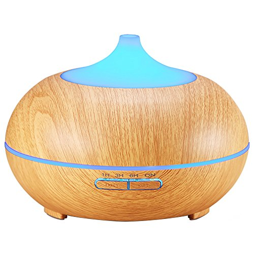 Amir Essential Oil Diffuser, 300ml Cool Mist Ultrasonic Humidifier