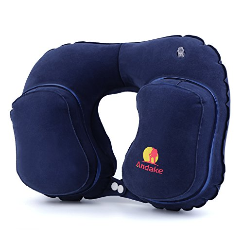 Andake Inflatable Pillow Suitable as Travel Pillow, Neck pillow