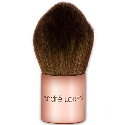 Best Foundation Brush - Premium, Vegan Fibers. Rose Gold