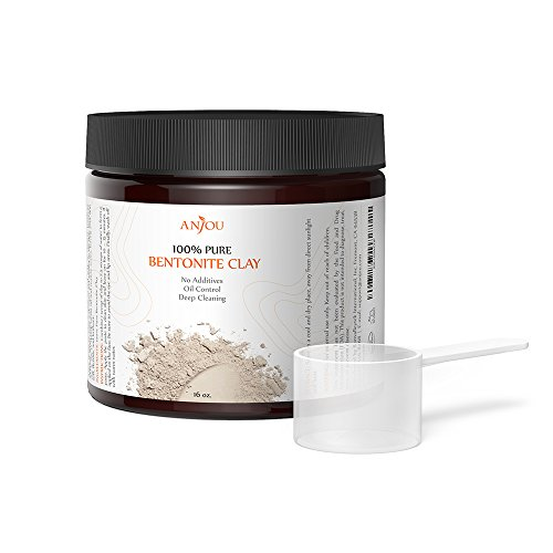Anjou Clay Mask 16 OZ, Sodium Bentonite Clay Powder