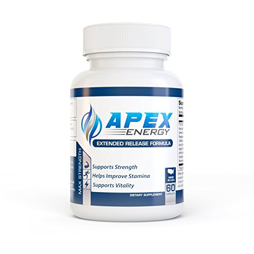APEX ENERGY – Energy Pills – Caffeine, Green Tea