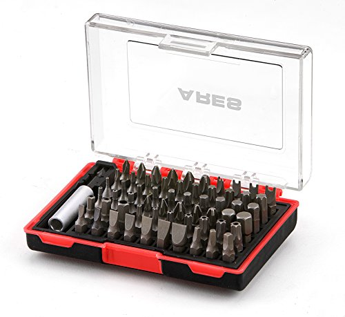 61-Piece Security Bit Set with Magnetic Extension Bit Holder-