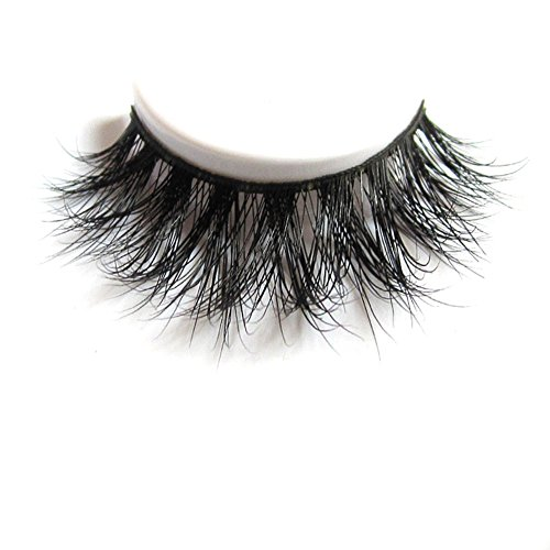 3D Mink Fur Fake Eyelashes 100% Siberian Mink Fur