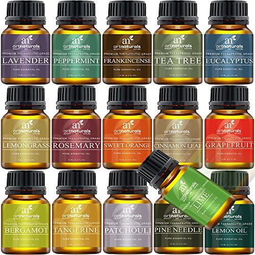Art Naturals Aromatherapy Top 16 Essential Oil Kit -