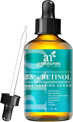 Art Naturals Enhanced Retinol Serum 2.5% with 20% Vitamin