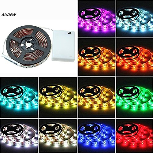 AUDEW 6.6ft RGB 5050 SMD 60 LED Strip Lights