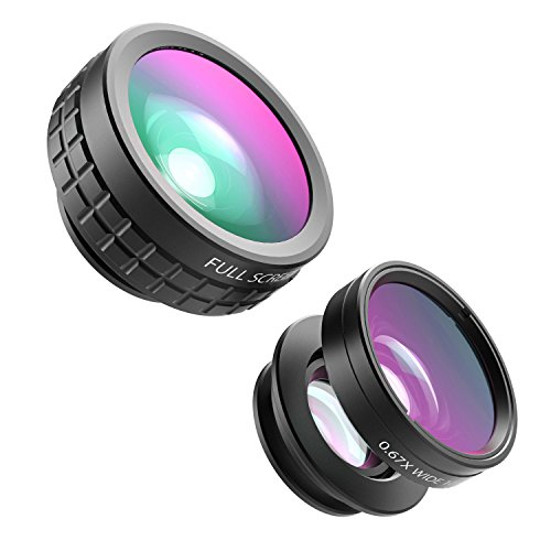 $10.99 AUKEY 3 in 1 Clip-on Cell Phone Camera Lens