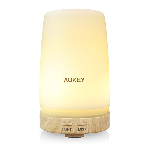 AUKEY Essential Oil Diffuser 100ml Ultrasonic Cool Mist Aroma